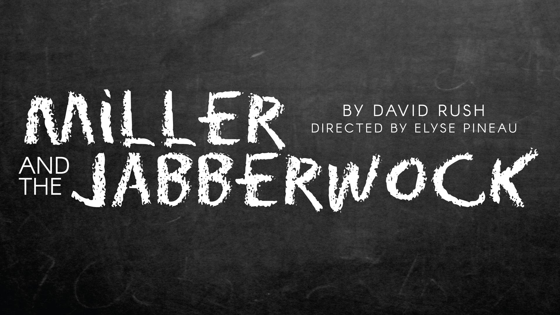 Miller and the Jabberwock by David Rush